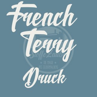 French Terry Druck